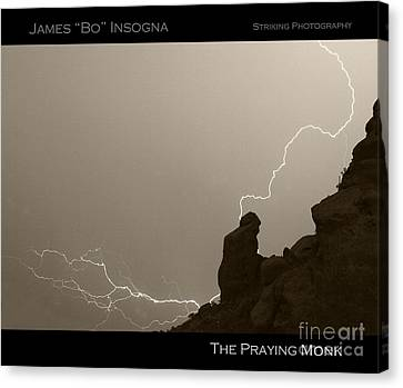 The Praying Monk Camelback Mountain Canvas Print