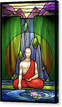 The Praying Monk Canvas Print