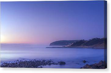 The Predawn Mist Canvas Print