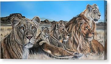 The Pride Canvas Print