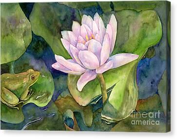 The Prince Of Peace Pond Canvas Print by Amy Kirkpatrick