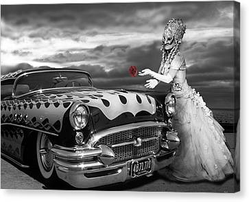The Prince Of The Highway Canvas Print by Larry Butterworth