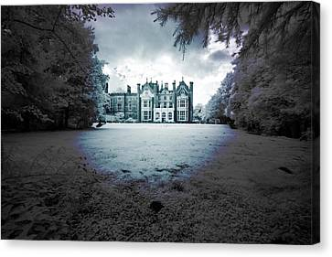 The Priory  Canvas Print by Keith Elliott