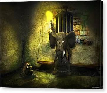 The Prisoner Canvas Print