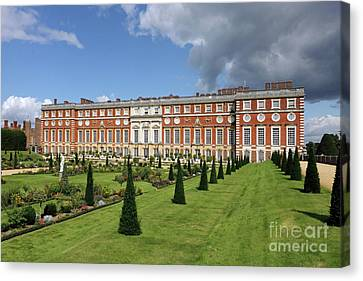 The Privy Garden Hampton Court Canvas Print