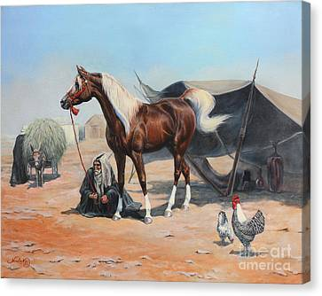 The Prize Canvas Print