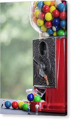 The Problem With Gumball Machines Canvas Print