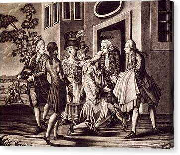 The Prodigal Son Canvas Print by French School