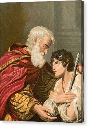 The Prodigal Son Canvas Print by Lionello Spada