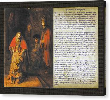 The Prodigal Son Canvas Print by Samuel Epperly