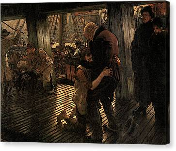 Prodigal Canvas Print - The Prodigal Son The Return by James Jacques Joseph Tissot