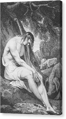 The Prodigal Son Canvas Print by William Hopwood