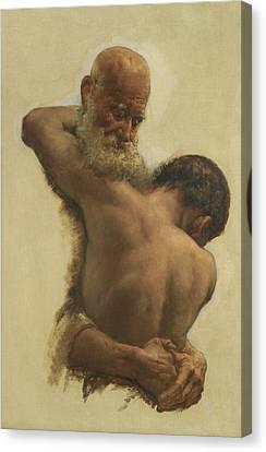 The Prodigal's Return Canvas Print by Edward Stott