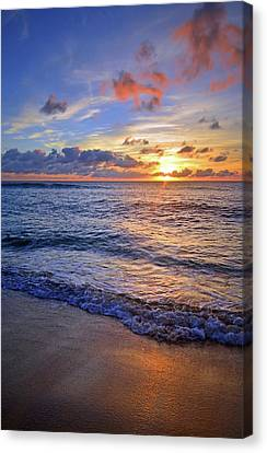Canvas Print featuring the photograph The Promise Of A New Day by Tara Turner