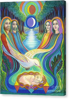 The Prophecy Canvas Print by Debra A Hitchcock