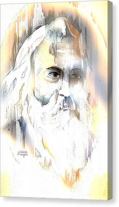 The Prophet Canvas Print by Arline Wagner