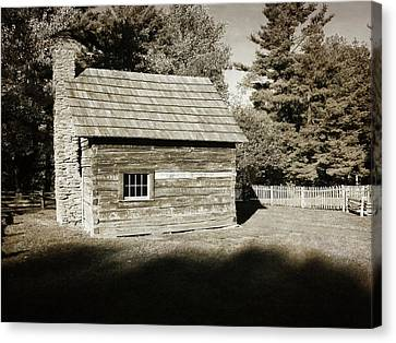 The Puckett Cabin Canvas Print