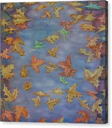 The Pudlle Canvas Print by Hiske Tas Bain