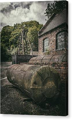 The Pumping House Canvas Print