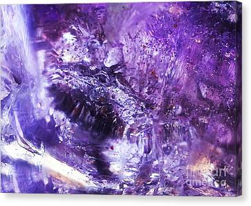 The Crystal Abundance Dragon Canvas Print