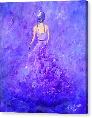 The Purple Prom Canvas Print