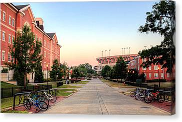 The Quad Canvas Print