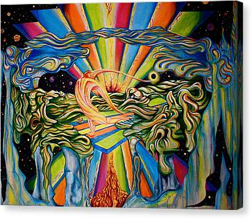 The Quantum Awakening Canvas Print by Ben Christianson