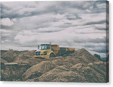 Machinery Canvas Print - The Quarry by Martin Newman