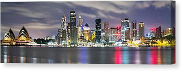 The Quay Canvas Print by Mark Lucey