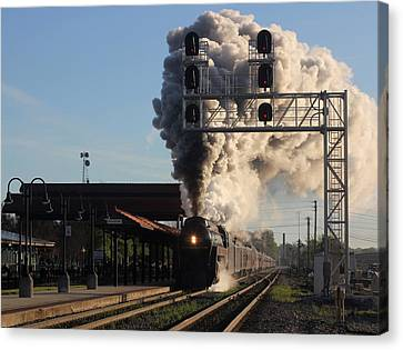 The Queen Of Steam 6 Canvas Print