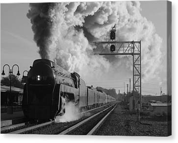 The Queen Of Steam Canvas Print