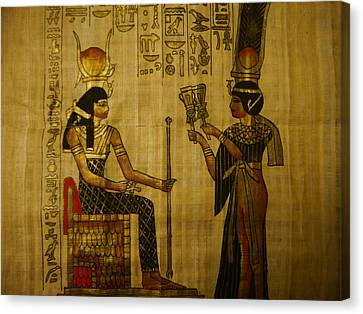 The Queen Of The Nile Canvas Print by Joshua Massenburg