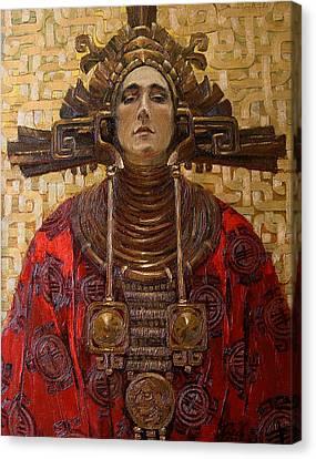 The Queen Of The Sun Canvas Print by Goryaev Viktor