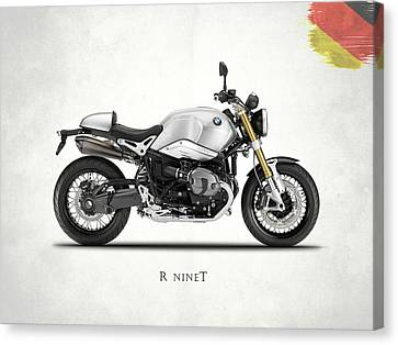 Bmw Canvas Print - The R Nine T by Mark Rogan