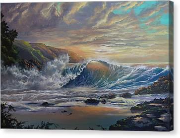 The Radiant Sea Canvas Print by Marco Antonio Aguilar