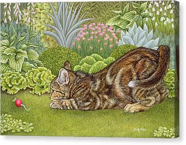 The Radish Hunt Canvas Print
