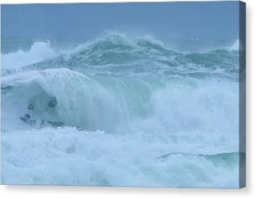 The Raging Ocean Canvas Print by Jeff Swan
