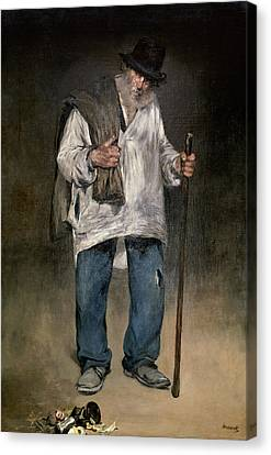 The Ragman Canvas Print by Edouard Manet