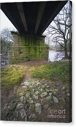 The Railway Bridge Canvas Print by Nichola Denny