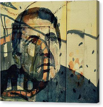 The Rain Falls Down On Last Years Man  Canvas Print by Paul Lovering