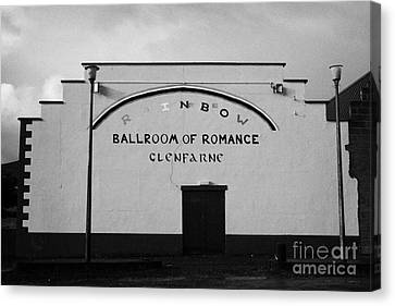 the rainbow ballroom of romance in Glenfarne county leitrim republic of ireland Canvas Print by Joe Fox