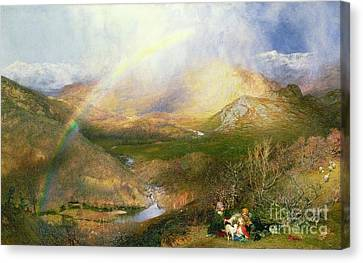 Clarence Canvas Print - The Rainbow by MotionAge Designs
