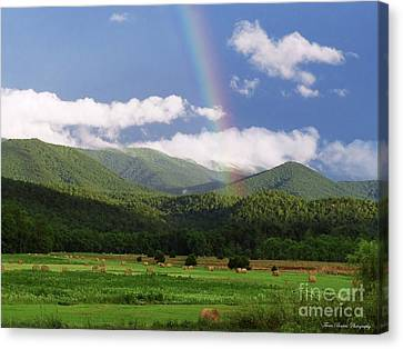 The Rainbow's End Canvas Print