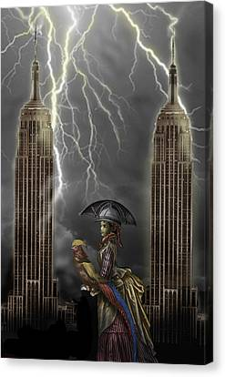 The Rainmaker Canvas Print by Larry Butterworth