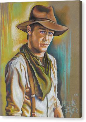 The Ranch Hand  Canvas Print by Nicole Fisher