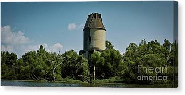 Canvas Print featuring the photograph The Rankin Coal Tipple by Douglas Stucky