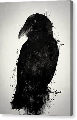 The Raven Canvas Print by Nicklas Gustafsson
