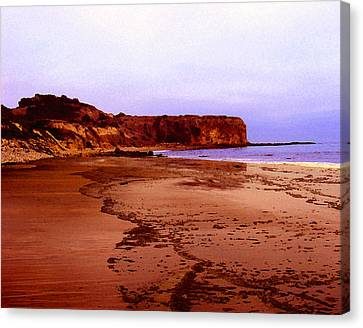 The Reach At Portugese Bend Canvas Print