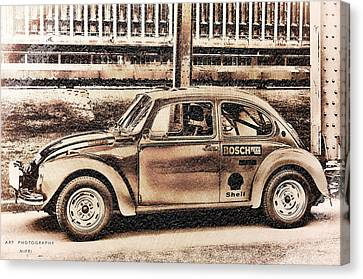 The Real Beetle Canvas Print by Nicole Frischlich