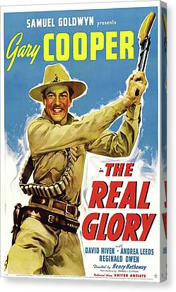 The Real Glory 1939 Canvas Print by Mountain Dreams
